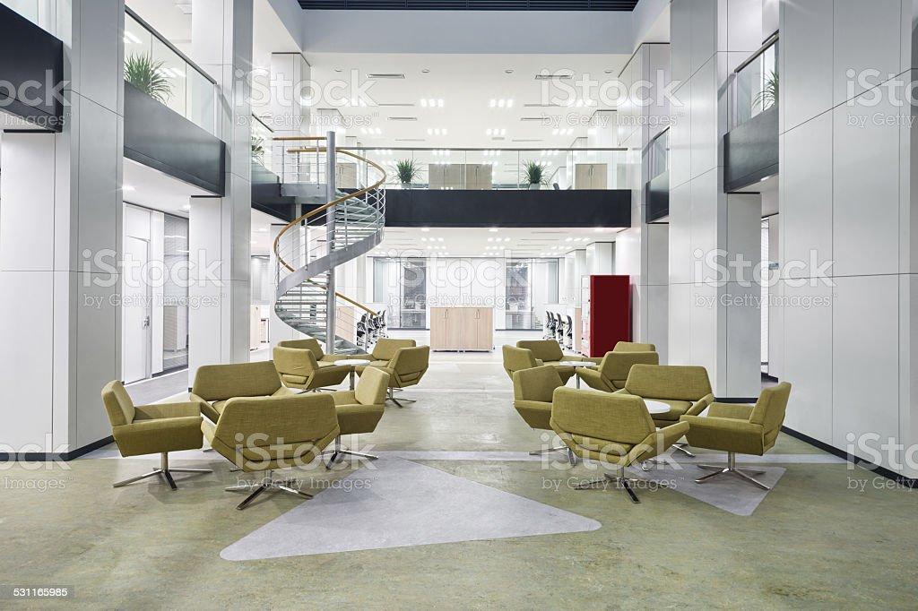 Innen moderne Büro-lobby-Saal – Foto