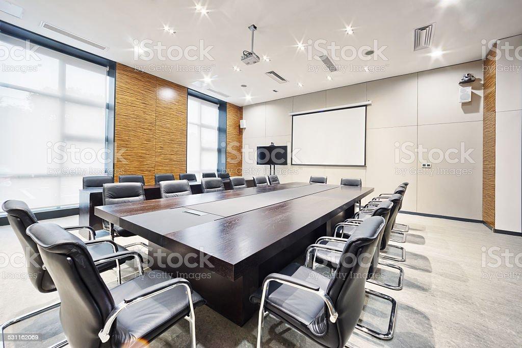 Intérieur de la salle de réunion de bureau moderne et la
