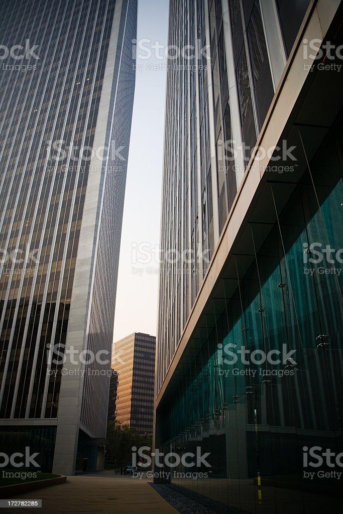 Modern Office Park royalty-free stock photo