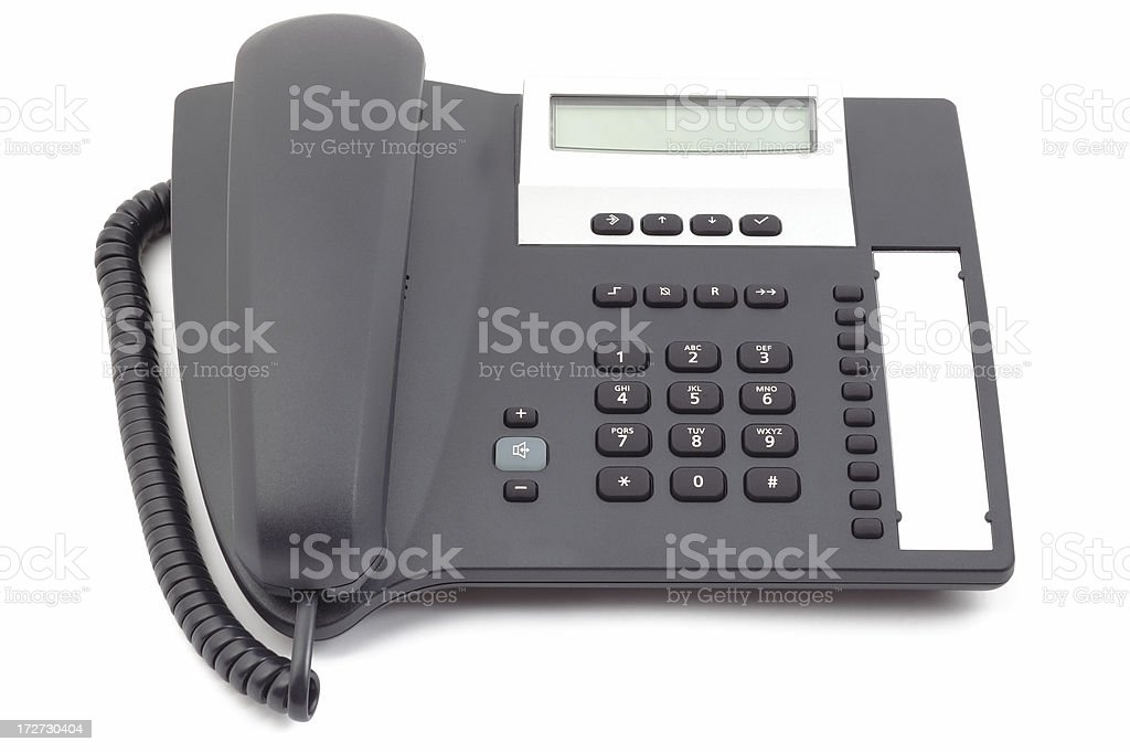 Modern office phone royalty-free stock photo