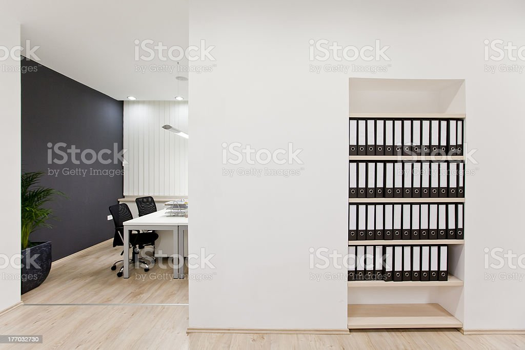 Modern office royalty-free stock photo