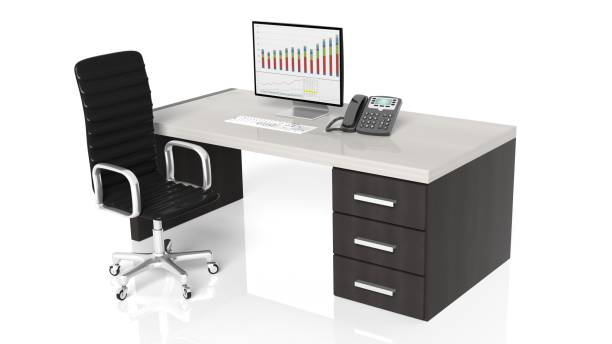 modern office - call center стоковые фото и изображения