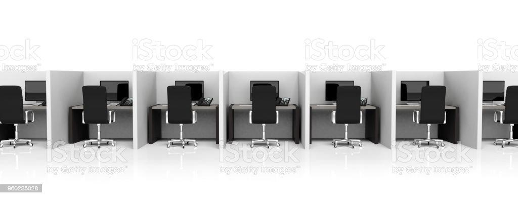 Bureau moderne  photo libre de droits