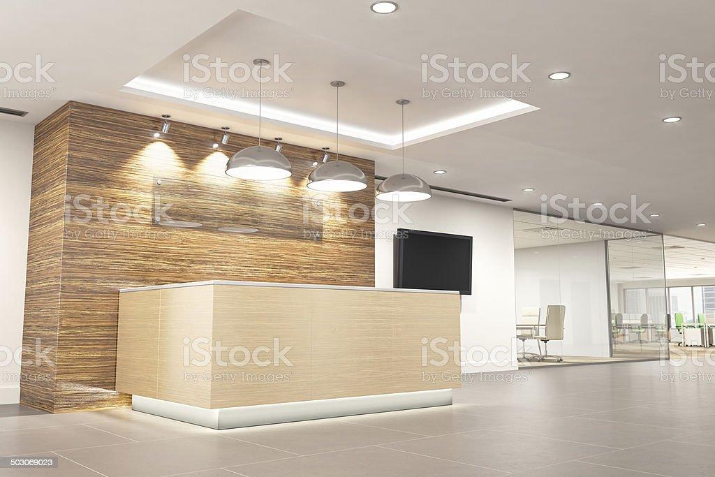Moderne Büro-Empfang – Foto