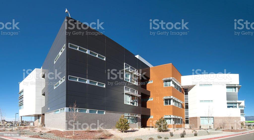 Modern Office, School or Hospital Building Exterior stock photo