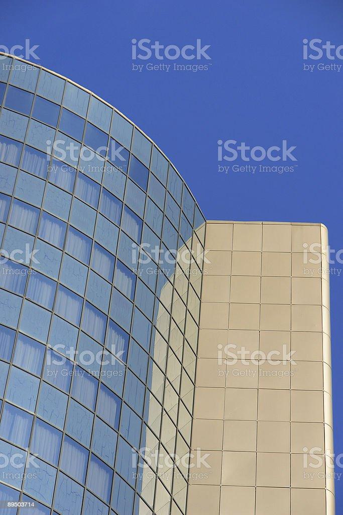 Modern Office Skyscraper royaltyfri bildbanksbilder
