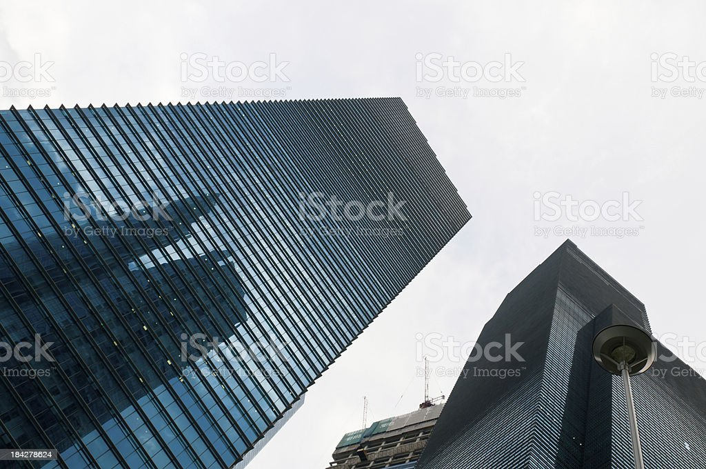 Modern Office Skyscrapers royalty-free stock photo