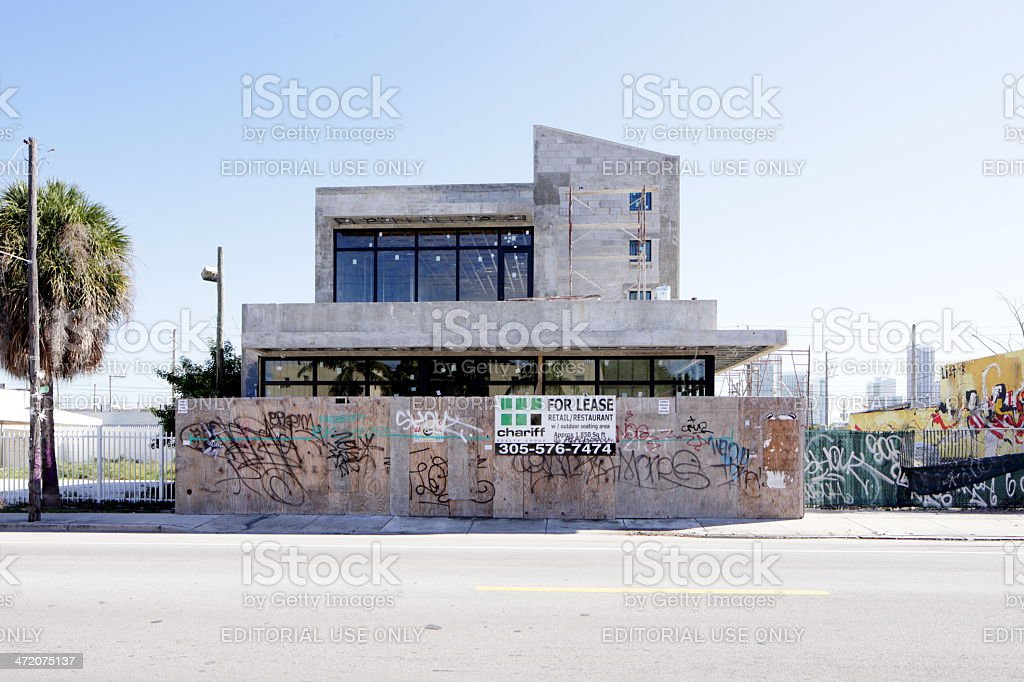 Modern office space for rent stock photo