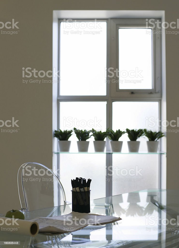 Modern Office Space royalty-free stock photo