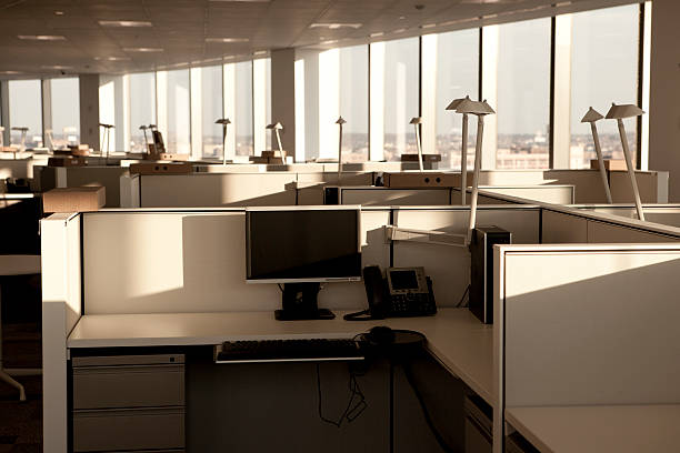 Modern Office Space stock photo