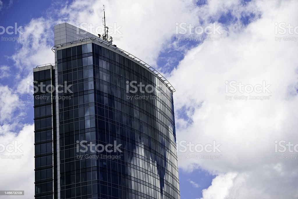 Modern Office Tower royalty-free stock photo