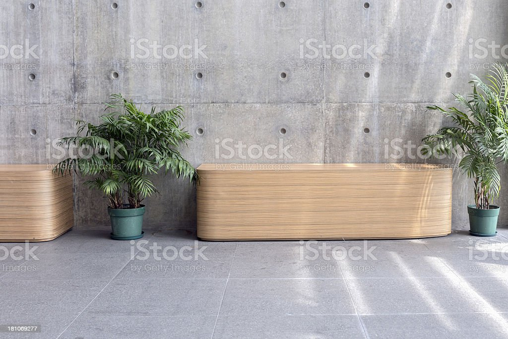 Modern Office Waiting Room royalty-free stock photo