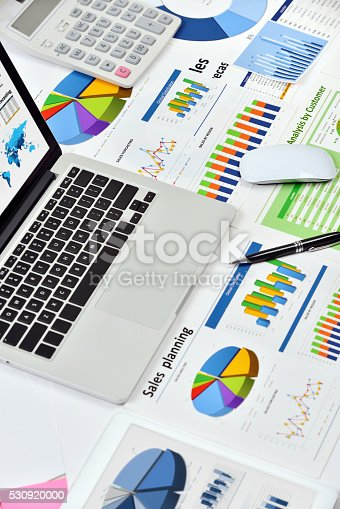 istock Modern office workplace 530920000