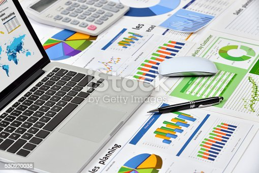 istock Modern office workplace 530920038
