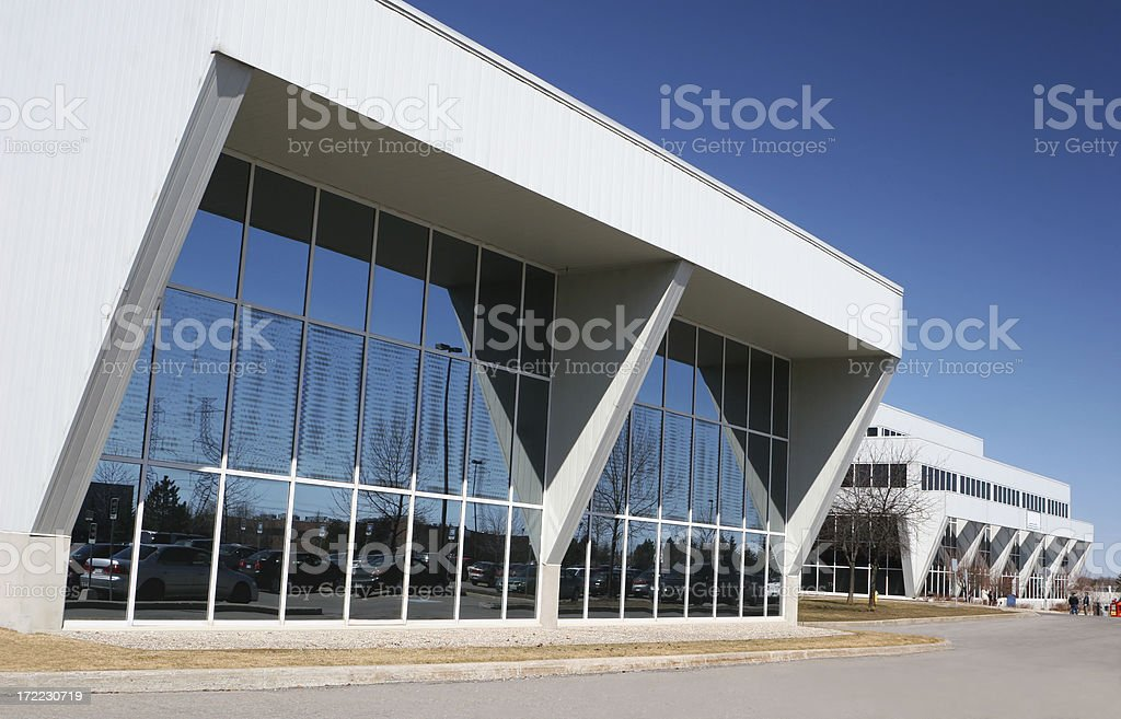 Modern Offices Park royalty-free stock photo