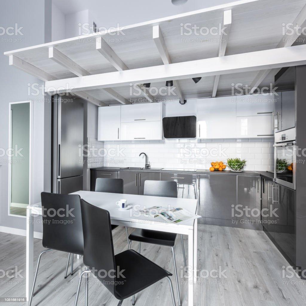Moderne Offene Küche Stockfoto und mehr Bilder von ...