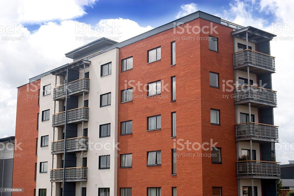 Modernes apartment Häuserblock – Foto