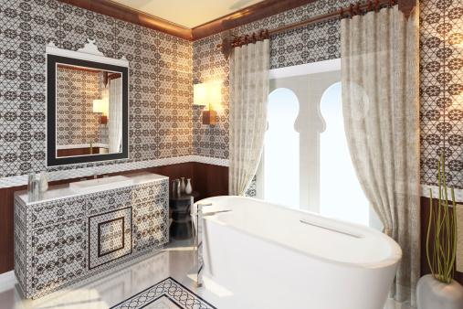 Moderne Orient Badezimmer Stockfoto und mehr Bilder von ...