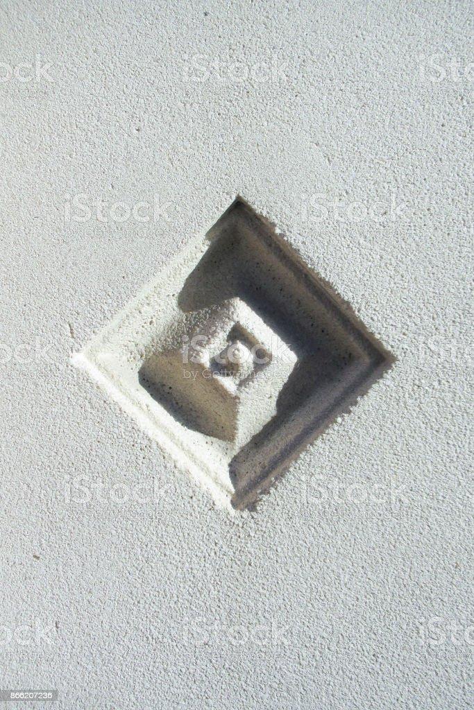 modern ornament stone stock photo