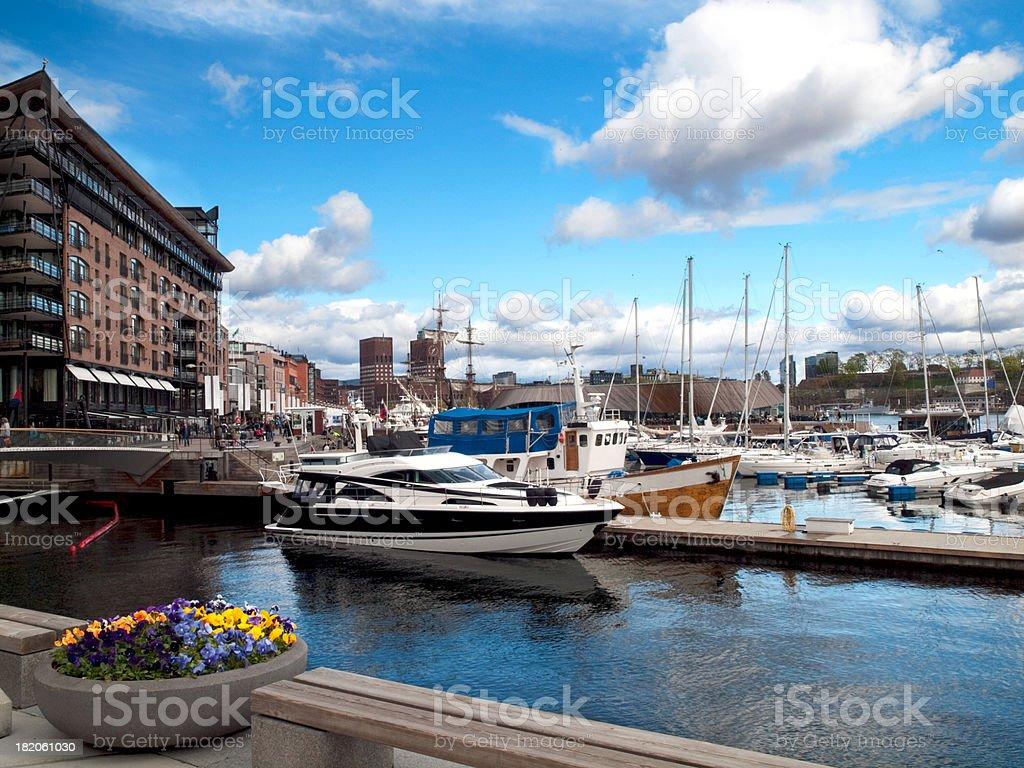 Modern Oslo royalty-free stock photo
