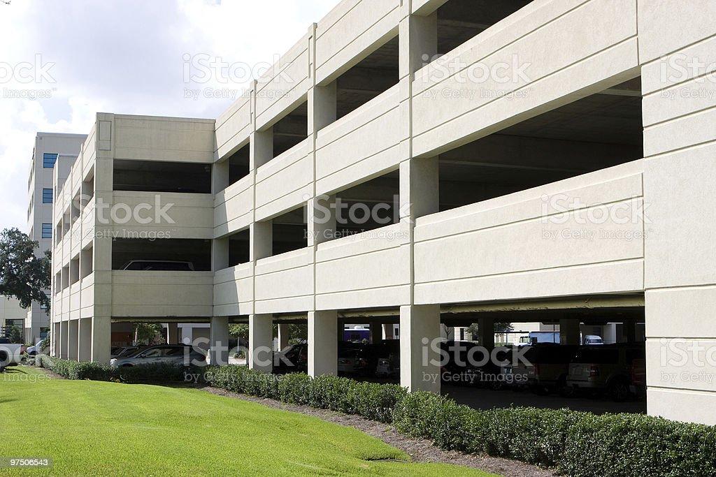 Modern Parking Garage royalty-free stock photo