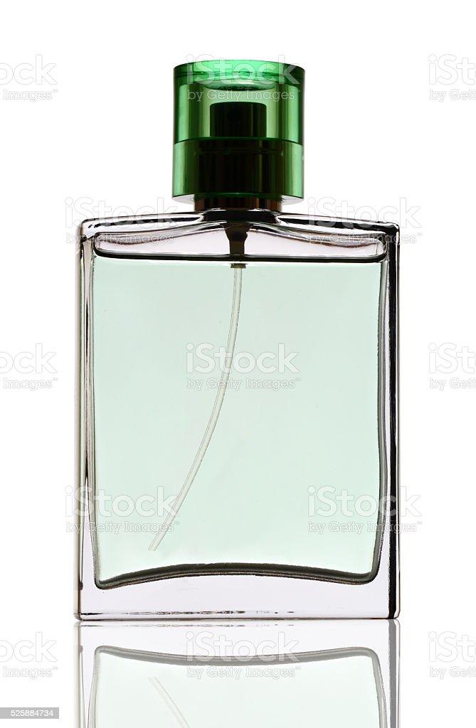 Modern perfume bottle stock photo
