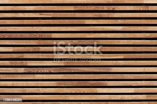Modern picture backgrounds made of wood and wooden threads in format-filling, high-resolution photos with copy space and color