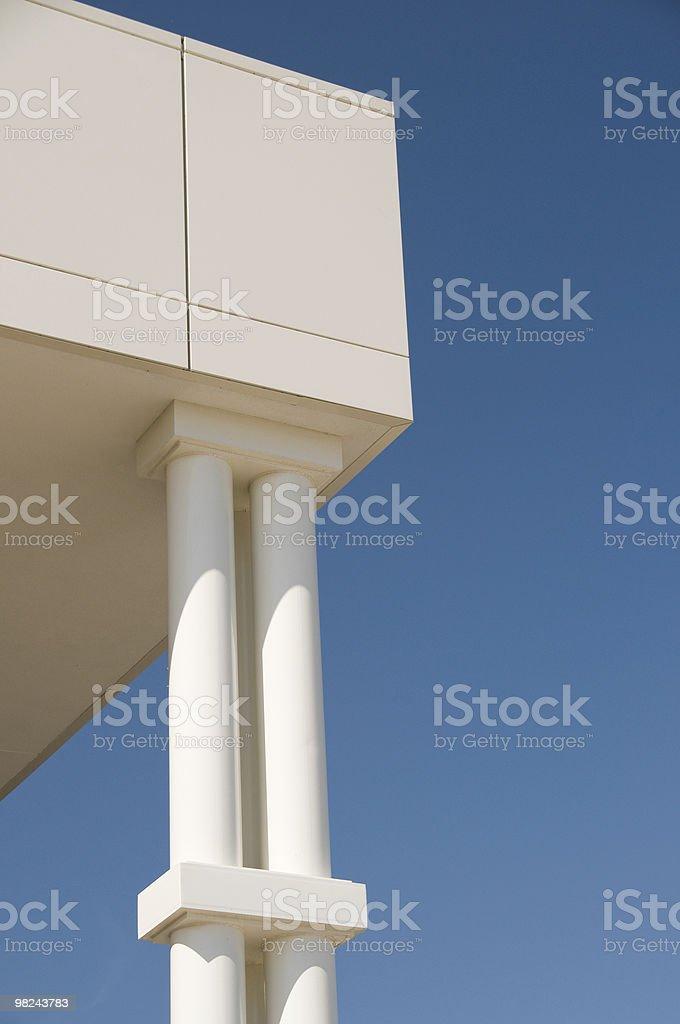 Modern Pillars royalty-free stock photo