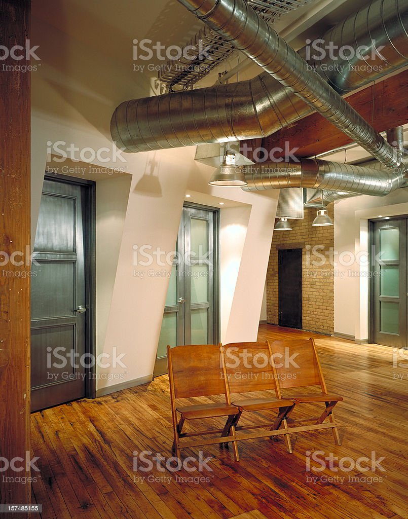 Modern Place of Work royalty-free stock photo