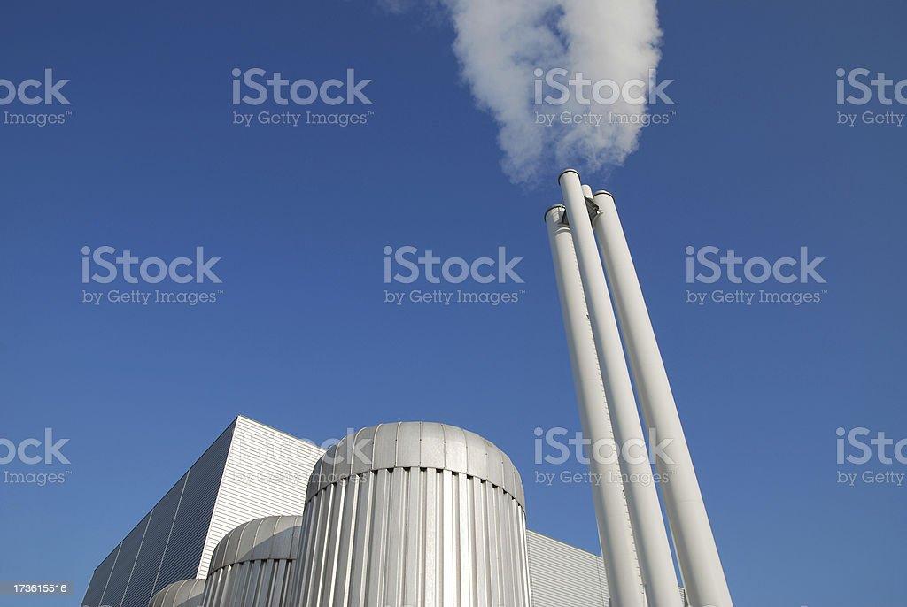 Modern power station royalty-free stock photo
