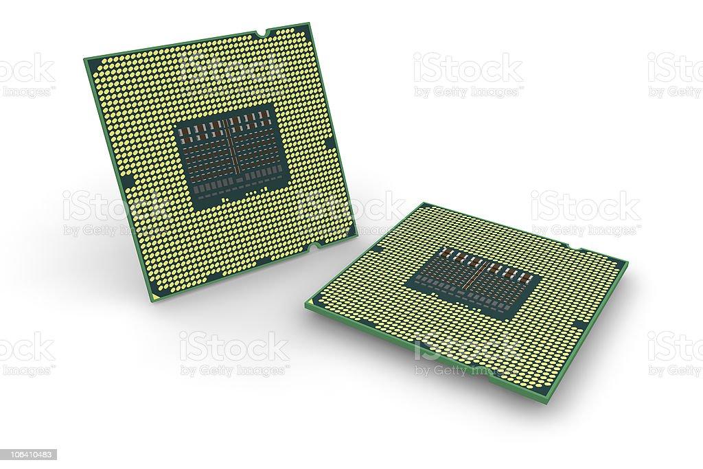 Modern processors royalty-free stock photo