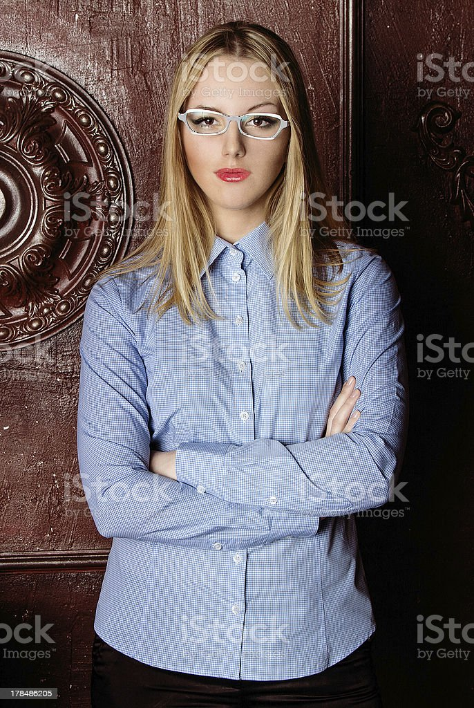modern professional businesswoman royalty-free stock photo