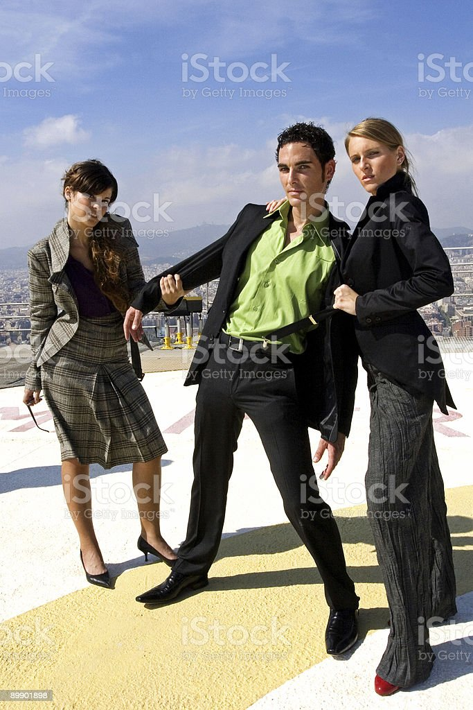 Modern Professionals royalty-free stock photo