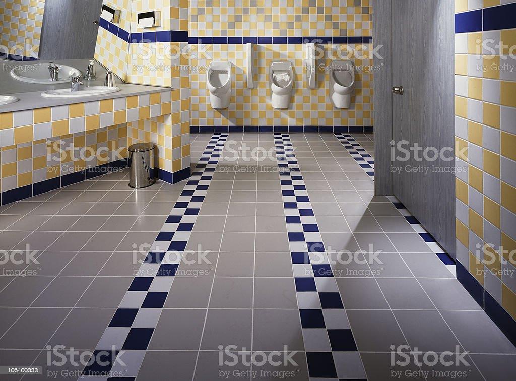 Modern Public Restroom stock photo