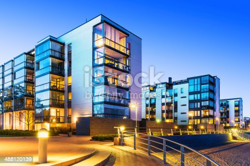 istock Modern real estate 488120139