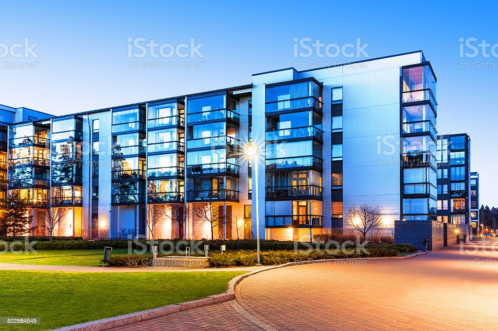 Modern real estate royalty-free stock photo