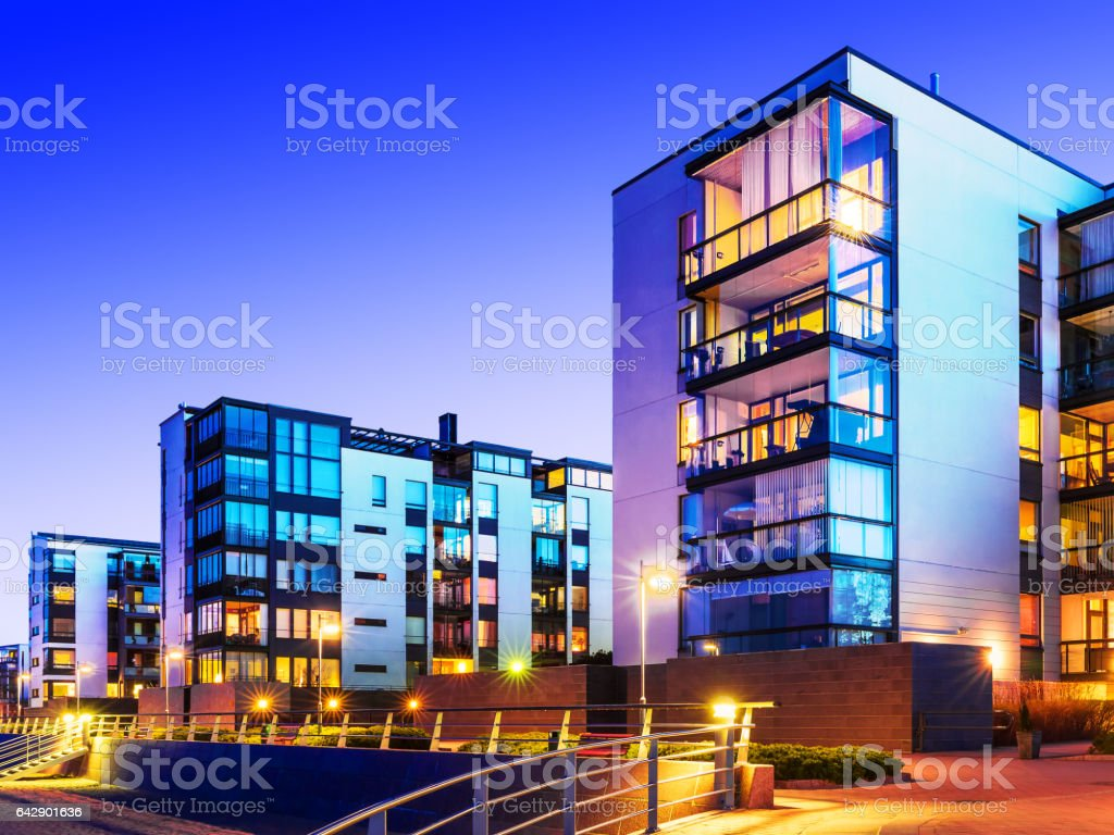 Immobiliare moderno foto stock royalty-free