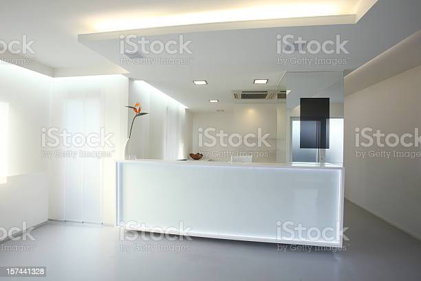 Modern reception desk in grey white color picture id157441328?b=1&k=6&m=157441328&s=612x612&h=jxurkpnx3t9swotslq pbfu2yawvvlr57pcnuay rka=