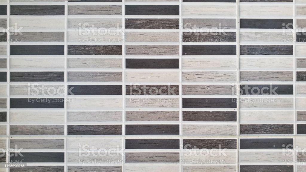 Modern Rectangular Greyscale Bathroom Or Kitchen Wall Tiles Stock Photo Download Image Now Istock