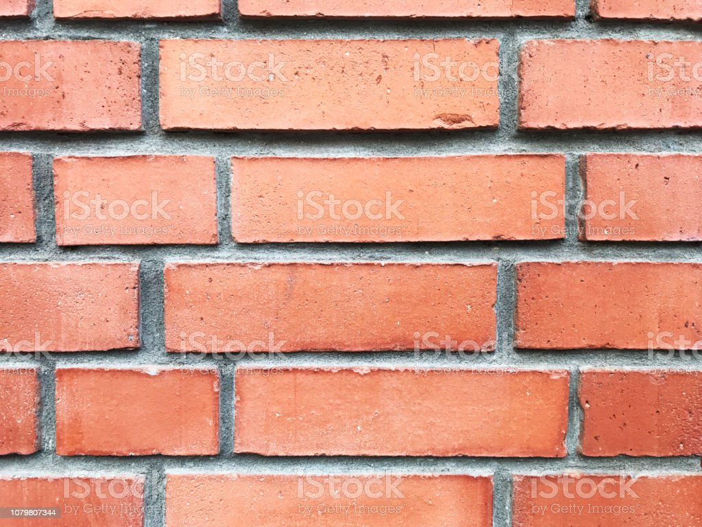 Mur En Brique Rouge photo libre de droit de texture de mur de brique rouge moderne banque  d'images et plus d'images libres de droit de {top keyword}