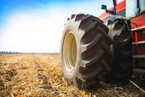 Tractor Tyre Stock Photos, Pictures & Royalty-Free Images - iStock