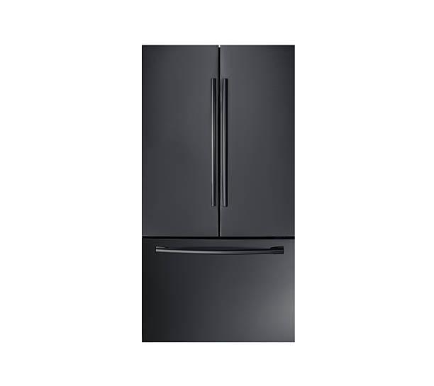 moderne und kühlschrank - geschlossene küchen stock-fotos und bilder