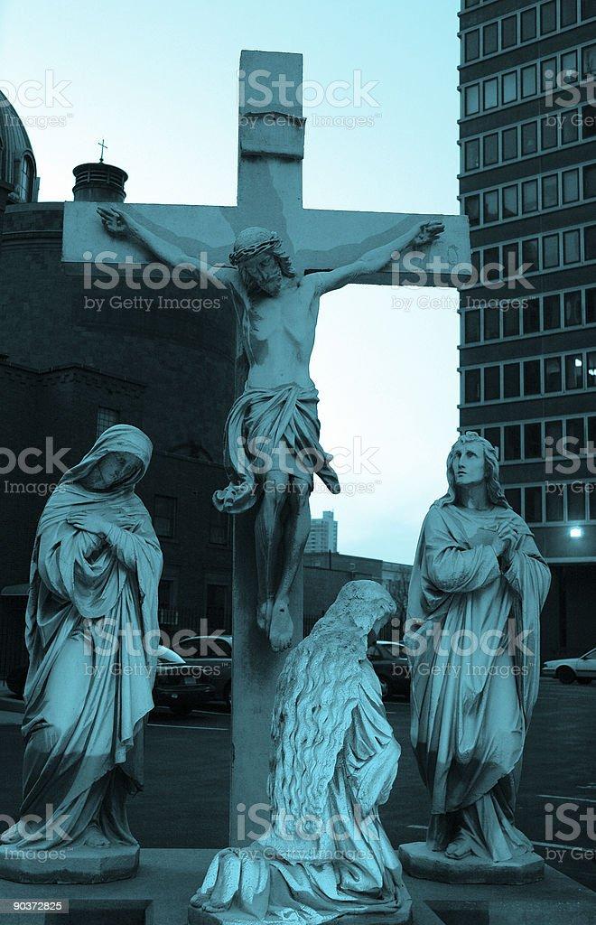 modern religion stock photo