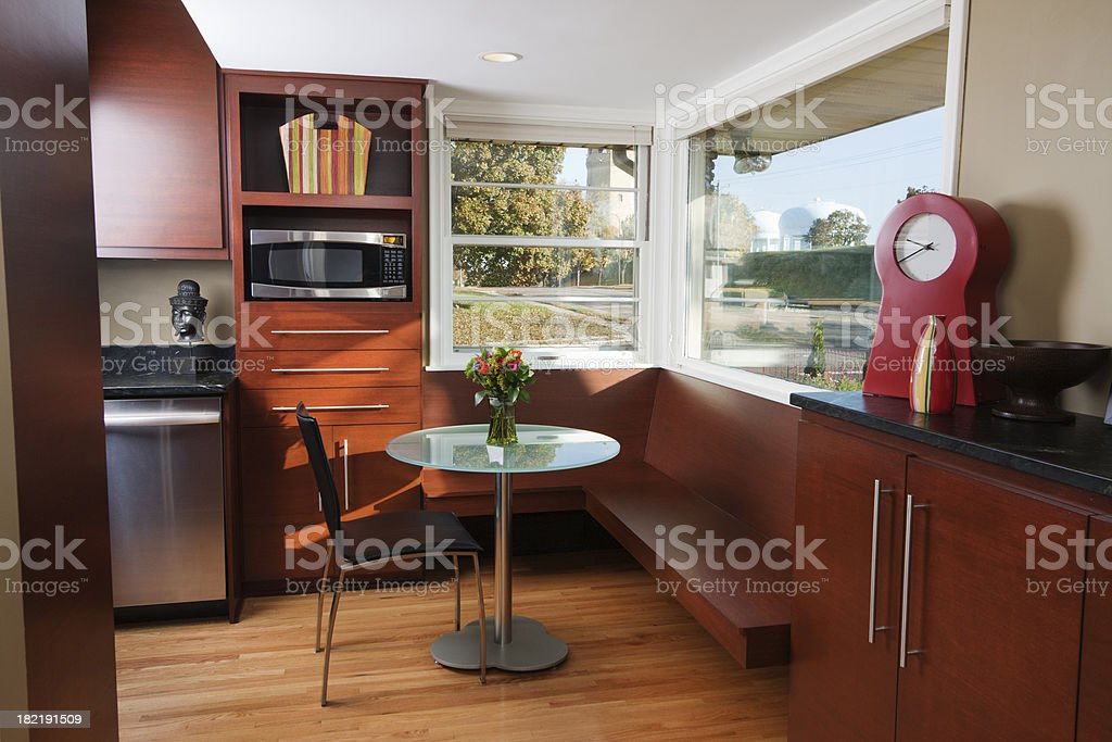 Modern Remodeled Kitchen - Coffee Table Hz stock photo