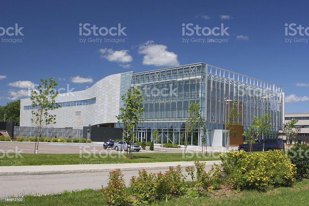 Modern Research Center stock photo