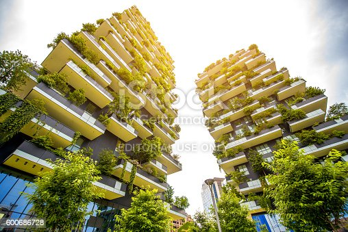 istock Modern residantial district in Milan 600686728