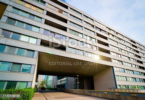 949087660 istock photo Modern residential apartment and flat building exterior Vienna 1170126191