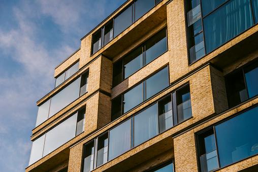 A modern residential building in Berlin, Germany
