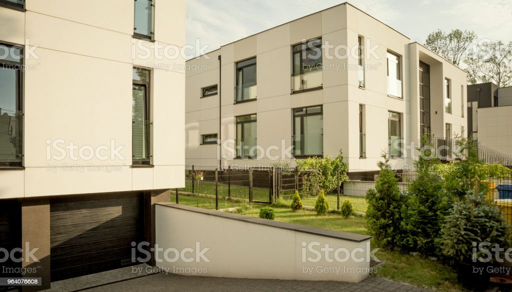 Modern residential building - Royalty-free Apartment Stock Photo