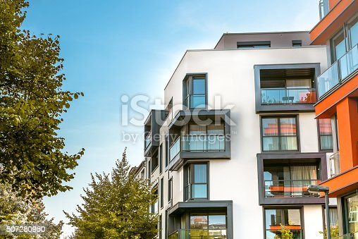 istock modern residential buildings in berlin 507280950
